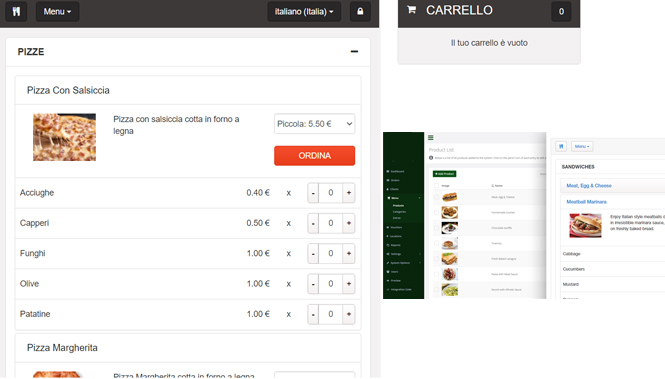 Software di Consegne a Domicilio - Delivery