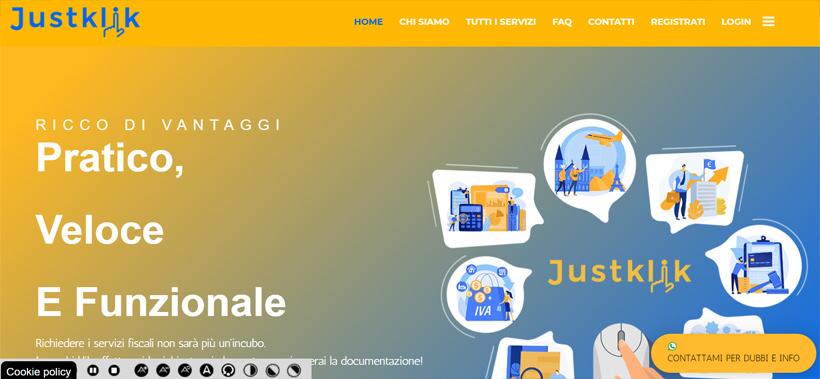 Realizzazione sito internet per CAF